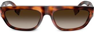 Burberry Tortoiseshell Aviator Sunglasses