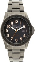 Coleman Men's COL7117 Casual Silver Band Watch
