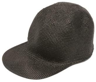 Reinhard Plank Hats - Enzo Woven Baseball Cap - Black