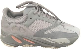 Yeezy X Adidas Grey Leather Trainers