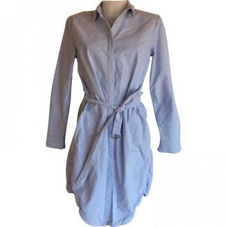 HOLZWEILER Blue Cotton Dress for Women