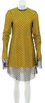 Marques Almeida Marques'Almeida 2016 Long Sleeve Knee-Length Dress