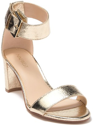 Nine West Plydyn Block Heel Sandal