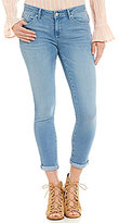 Jessica Simpson Forever Rolled Stretch Denim Skinny Jeans