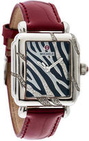 Michele Deco Safari Zebra Watch