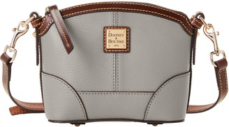 Dooney & Bourke Derby Pebble Mini Domed Crossbody