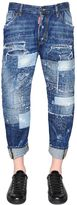DSQUARED2 20cm Workwear Stitched Denim Jeans