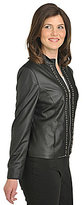 TanJay Faux-Leather Jacket