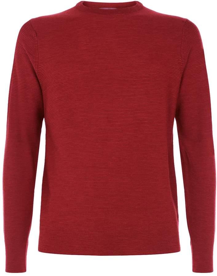 Canali Wool Fine Knit Sweater