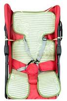 Black Temptation Summer Carts Mats Reusable Stroller Flax Mats Liner for Stroller