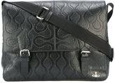 Vivienne Westwood textured shoulder bag