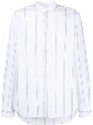 Eleventy Striped Long-Sleeve Shirt