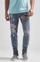 Young & Reckless Robertson Destroyed Premium Tapered Jeans