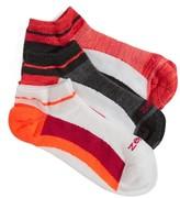 Zella Women's Fitness 3-Pack Liner Socks