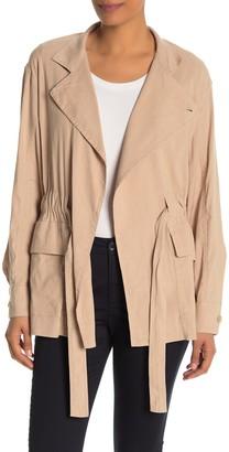 Vince Drapey Linen Blend Jacket