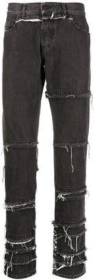 Diesel D-Kras mid-rise slim-fit jeans