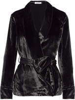 Equipment Odette Velvet Jacket - Black