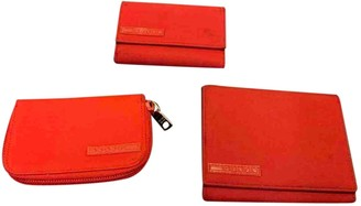 Prada Red Synthetic Purses, wallets & cases