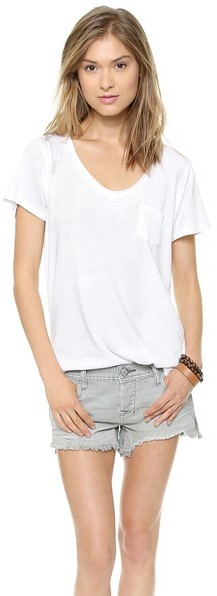 Free People Cotton Candy Wildfire Tee