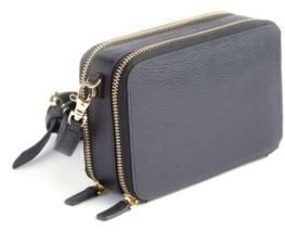 Royce New York Pebbled Leather Cross Body Bag