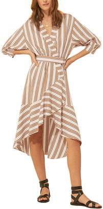 BA&SH Nastasia Midi Dress