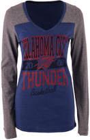 5th & Ocean Women's Oklahoma City Thunder Dunk Long-Sleeve T-Shirt