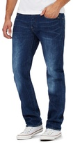 G-star Raw Blue 'revend' Straight Fit Jeans