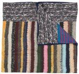 Pierre Louis Mascia Pierre-Louis Mascia - striped scarf - unisex - Silk - One Size
