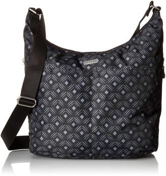 Baggallini Women's Hobo with Rfid Wristlet Cross Body Bag
