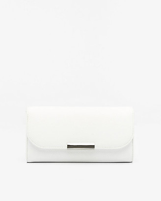 Le Château Faux Leather Wallet with Crossbody Strap