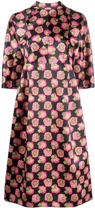 Comme des Garcons Graphic-Print Puffball Dress