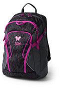 Lands' End Digital ClassMate Medium Backpack - Print-Crystal Amethyst