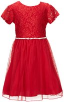Xtraordinary Little Girls 4-6X Lace-To-Tulle A-Line Dress
