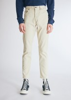 Beams Men's 5Pocket Tapered Pique in Beige Pants, Size Small