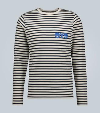 Junya Watanabe x Merz b. Schwanen striped long-sleeved T-shirt