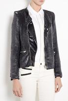 IRO Anthracite Sequin Jacket