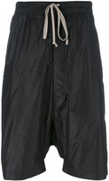 Rick Owens drop-crotch shorts - men - Silk - 50