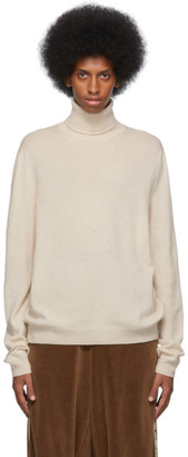 Gucci Off-White Wool Cashmere Turtleneck