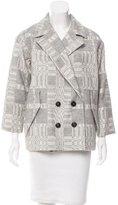 Etoile Isabel Marant Double-Breasted Patterned Coat