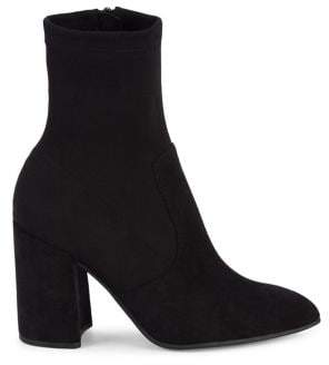 Steve Madden Taught Faux Suede Heeled Booties