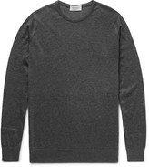 John Smedley Sea Island Cotton and Cashmere-Blend Sweater