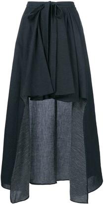 Chalayan Draped Asymmetric Skirt