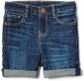 Stretch midi shorts