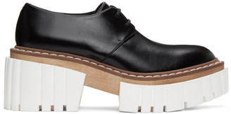 Stella McCartney Black Emilie Chunky Platform Derbys
