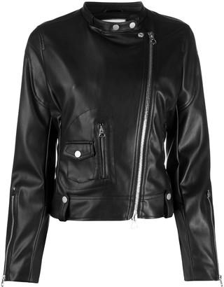 Urban Code Faux Leather Biker Jacket