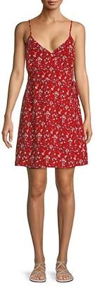 Sanctuary Floral-Print Wrap Dress