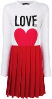 Love Moschino pleated dress