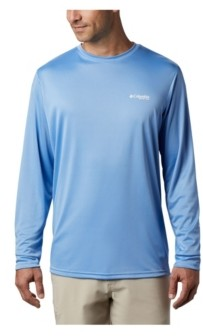 Columbia Men's Pfg Terminal Tackle Destination Long-Sleeve T-Shirt