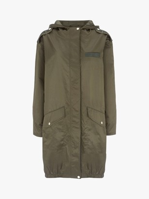 Mint Velvet Star Zip Parka