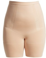 Spanx Plus OnCore High-Waisted Mid-Thigh Shaper Shorts